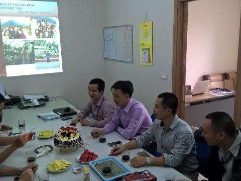 Tổ chức sinh nhật cho CBCNV